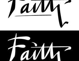 nº 11 pour Digitize and improve a hand drawn text logo - Faith par GribertJvargas