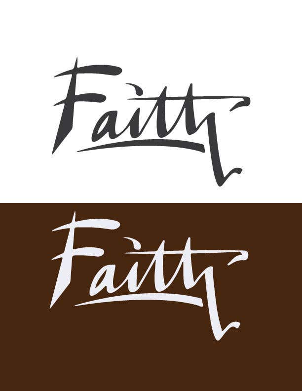 Proposition n°77 du concours Digitize and improve a hand drawn text logo - Faith