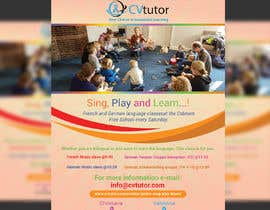 #29 pёr Design a flyer for Childrens language classes nga designersalma19