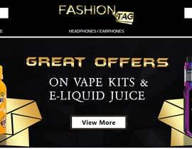 #4 pёr Website Banner for Vape Products nga alighouri01