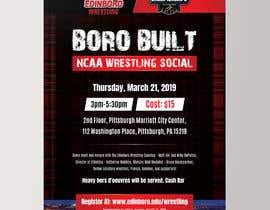 #4 untuk Boro Built NCAA Wrestling Social oleh darbarg
