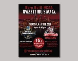 nº 6 pour Boro Built NCAA Wrestling Social par shazaismail01