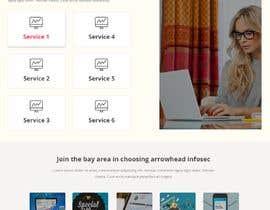 Nro 1 kilpailuun Single-page marketing page needed käyttäjältä sk1354607