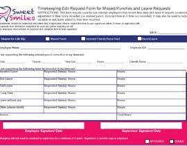 #8 za Make a one page employee form od IgeS