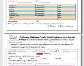 #7 za Make a one page employee form od FALL3N0005000