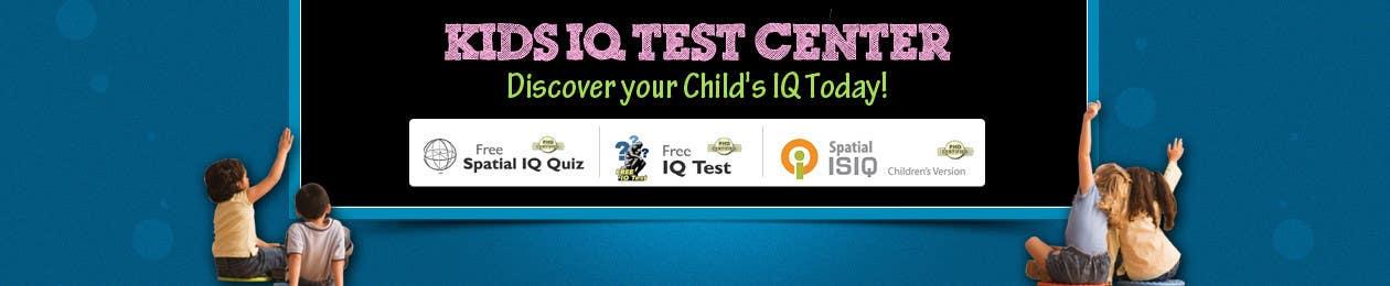 Konkurrenceindlæg #37 for Banner Ad Design for Kids IQ Test Center - Winner Gets $100