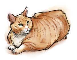 #116 za Draw tattoo style images of my cat od miqeq