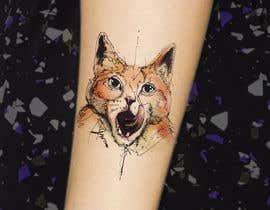#58 za Draw tattoo style images of my cat od pamaria58