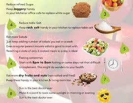 #22 za Design a poster - 10 habits to follow for Natural Health od hebayusuf89