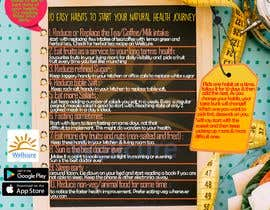 #24 za Design a poster - 10 habits to follow for Natural Health od Nurainaly