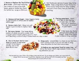 #27 za Design a poster - 10 habits to follow for Natural Health od georgesolomonh