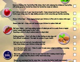 #14 za Design a poster - 10 habits to follow for Natural Health od Maraya4511