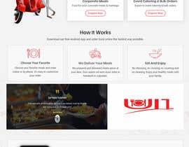 #38 za Make a Photoshop File for Website First UI 1- Landing Page od mhrdiagram