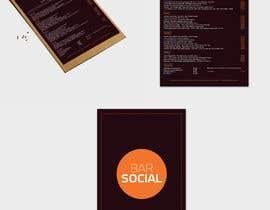 Nro 43 kilpailuun Design/Create funky food menu for bar/restaurant in MS Word käyttäjältä RaffiBD