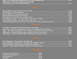 Nro 20 kilpailuun Design/Create funky food menu for bar/restaurant in MS Word käyttäjältä NSGraphicDesing