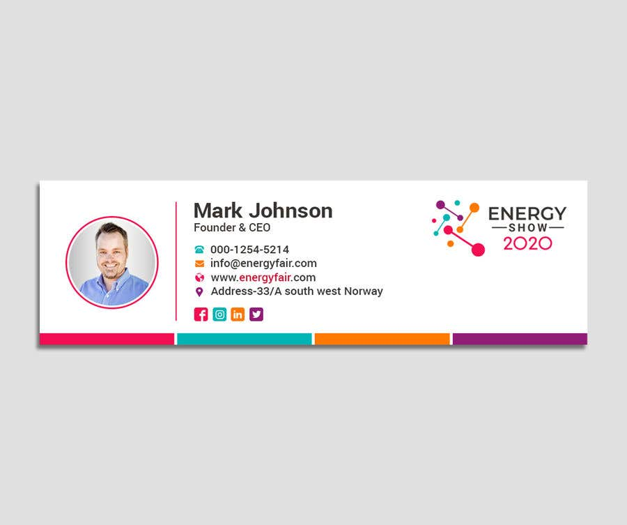 Contest Entry #487 for Business card and e-mail signature template.