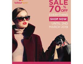 #9 для A Clearance Sale poster of 70% off everything от tahzeebsattar1