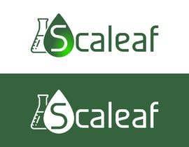 #718 za LOGO for Scaleaf a CBD oil brand product line od jamiu4luv