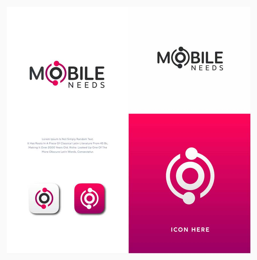 """Intrarea #194 pentru concursul """"Logo Design (Mobile Needs)"""""""