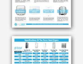 #14 za Create a two page hand dryer brochure od smileless33