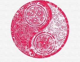 #108 za Yin Yang Wine Label od giovannavaladez