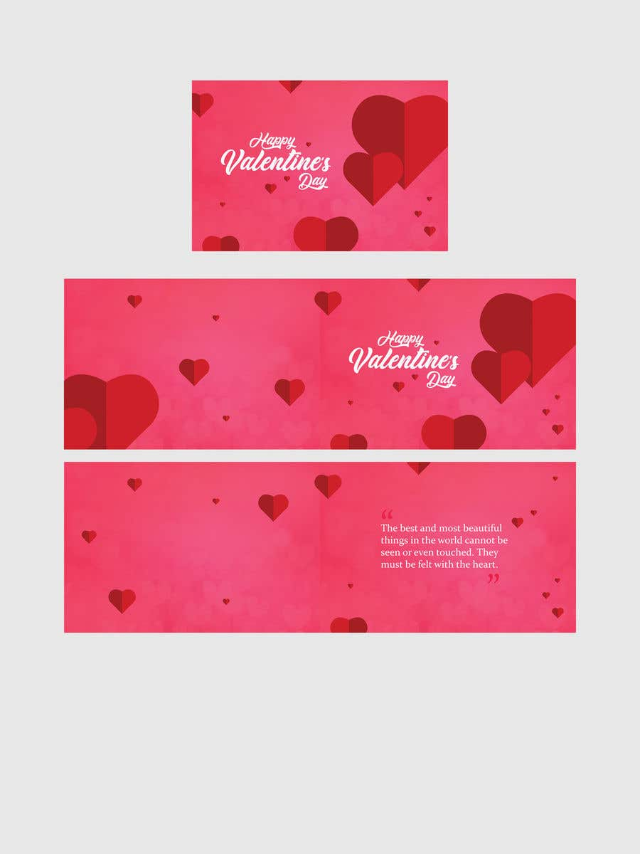 "Intrarea #1093 pentru concursul ""Design the World's Greatest Valentine's Day Greeting Card"""