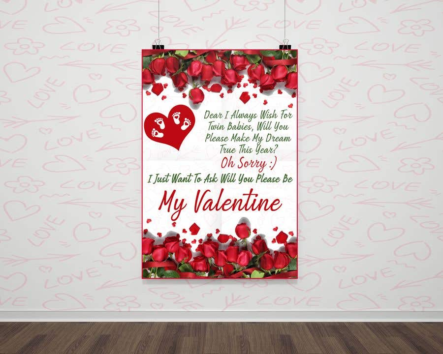 "Intrarea #102 pentru concursul ""Design the World's Greatest Valentine's Day Greeting Card"""