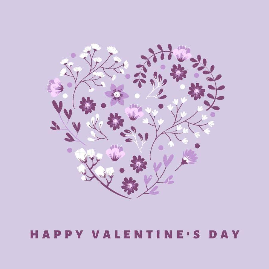 """Intrarea #1094 pentru concursul """"Design the World's Greatest Valentine's Day Greeting Card"""""""