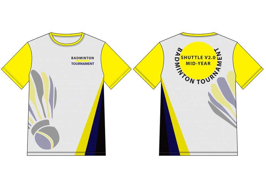 f5b79cb0 Entry #18 by hmahedi640 for T-shirt Design for Badminton Tournament ...