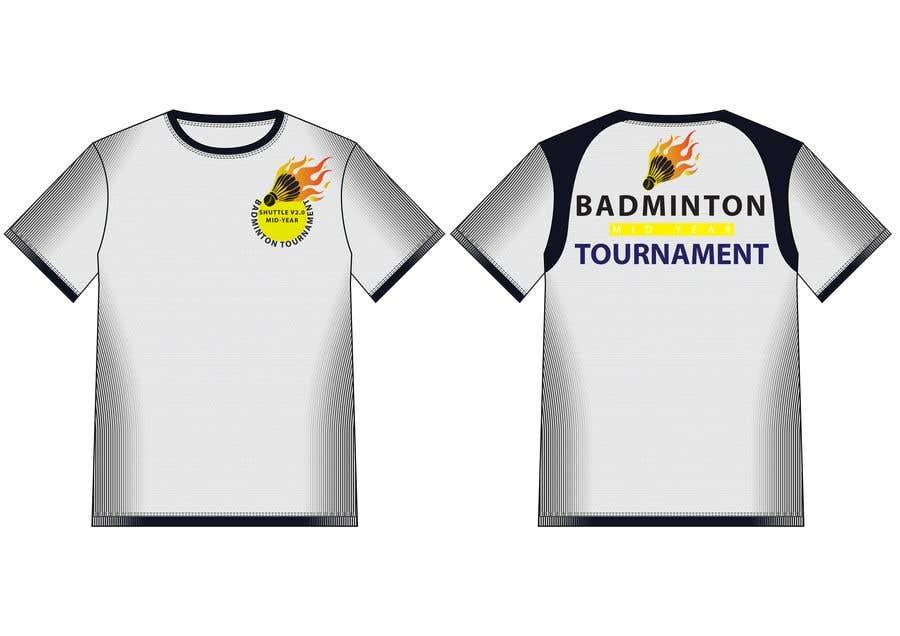 79d27a58 Entry #20 by hmahedi640 for T-shirt Design for Badminton Tournament ...
