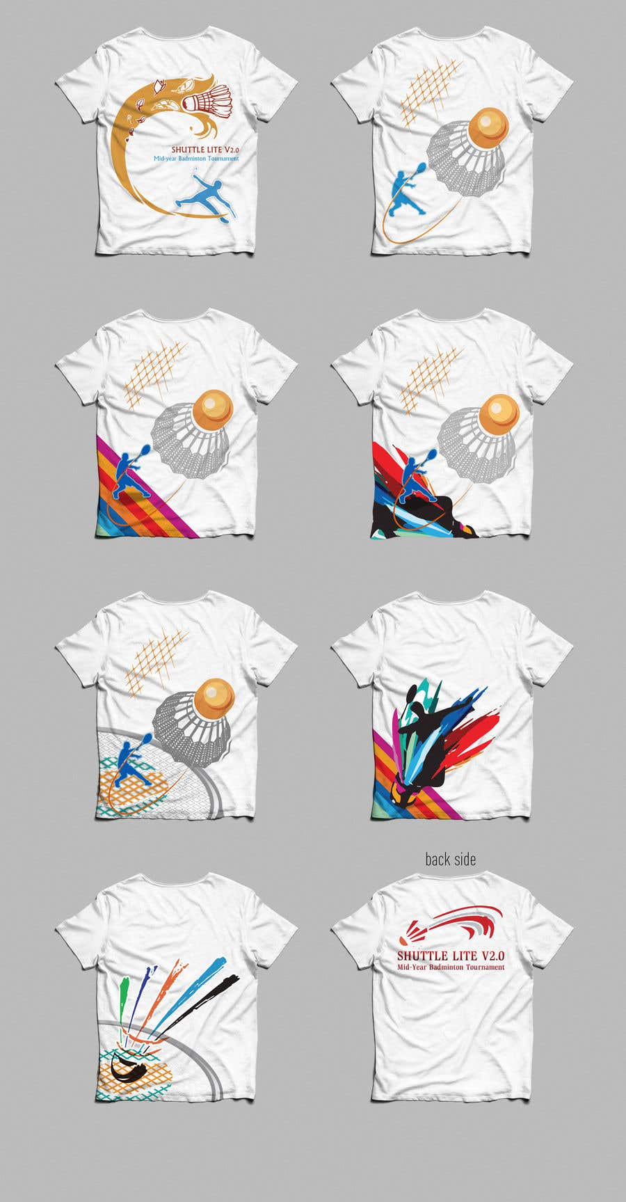 64a0efc0 Entry #31 by gradynelson for T-shirt Design for Badminton Tournament ...