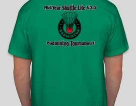 #13 za T-shirt Design for Badminton Tournament od umairjavedf7