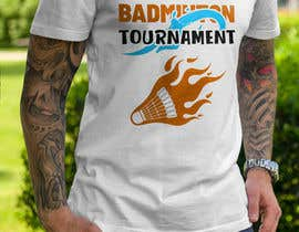 #27 za T-shirt Design for Badminton Tournament od graphicexpart