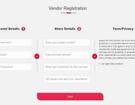 #28 za Design a registration page od poroshsua080