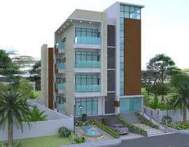 #54 для Improve 3D Building Exterior - Paint, Windows, Balcony, Entrance, Garden от Rinarto