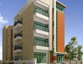 #37 для Improve 3D Building Exterior - Paint, Windows, Balcony, Entrance, Garden от nil369
