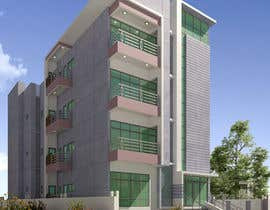 nº 77 pour Improve 3D Building Exterior - Paint, Windows, Balcony, Entrance, Garden par nil369