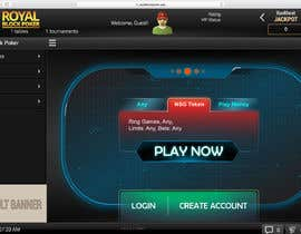 #28 untuk Re-skin My Poker Online Poker System UI oleh kesabk