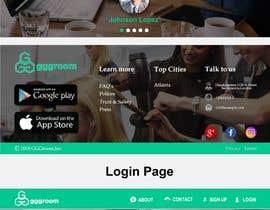 #15 untuk Website re-design - New look, Same colors oleh limoncse1
