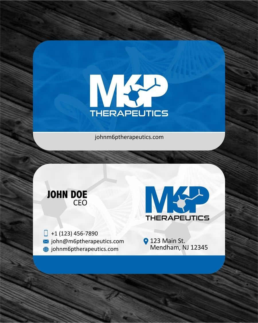 Inscrição nº 117 do Concurso para Design a business card