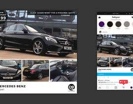 #15 for Hello.  I am trying to redesign my Instagram advert template but my designer is struggling. My brand is DB Automotive. For inspiration I have shown the Multi Cars Brand Which I like.  The winner will give me the PS file so I can use after . Thank you by iamyesarun