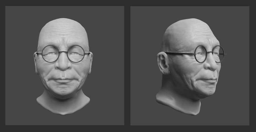 Proposition n°1 du concours 3D Modeling for 1 Person