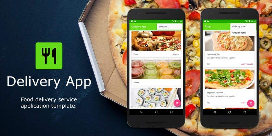 Entry #3 by saud79920 for Ionic App of Grocery food & Servicess