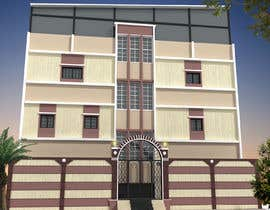 nº 12 pour 3D modeling/rendering of building facade by using 3ds Max to create new color design scheme par mufassir1234