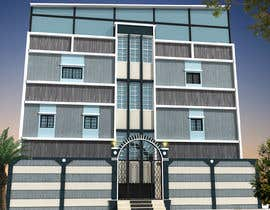 nº 14 pour 3D modeling/rendering of building facade by using 3ds Max to create new color design scheme par mufassir1234