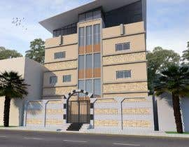 nº 8 pour 3D modeling/rendering of building facade by using 3ds Max to create new color design scheme par souragnighosh