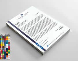 nº 19 pour Letterhead (2 different ones) $20 each need DOCX, PDF & AI file. Very very easy! par sajeebhasan177