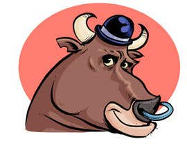 #69 for bull caricature by cbernardini
