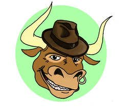 #68 for bull caricature by Maxoverdrawn