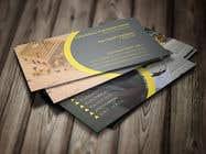 Graphic Design Kilpailutyö #23 kilpailuun design double sided business cards - construction